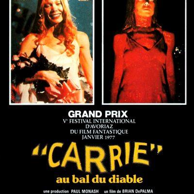 """Affiche du film """"Carrie au bal du diable"""""""
