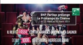 [Concours] BNP vous offre 500×2 places de cinéma