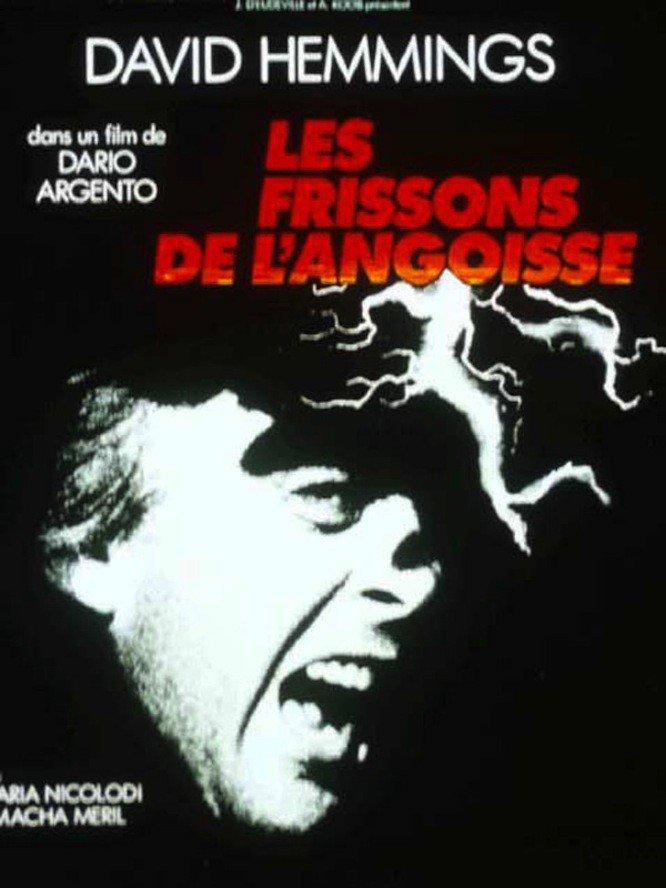 """Affiche du film """"Les Frissons de l'angoisse"""""""
