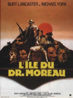 """Affiche du film """"L'Île du docteur Moreau"""""""