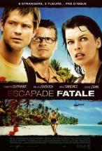"""Affiche du film """"Escapade fatale"""""""