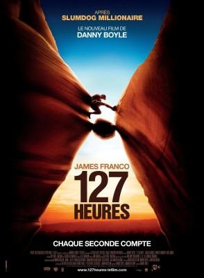 "Affiche du film ""127 Heures"""