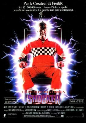 """Affiche du film """"Shocker"""""""