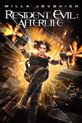 "Affiche du film ""Resident Evil : Afterlife"""