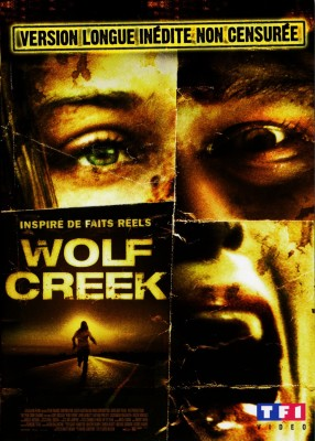"Affiche du film ""Wolf Creek"""