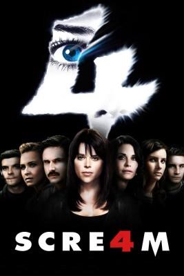 """Affiche du film """"Scream 4"""""""