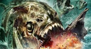 """Affiche du film """"Mega Piranha"""""""