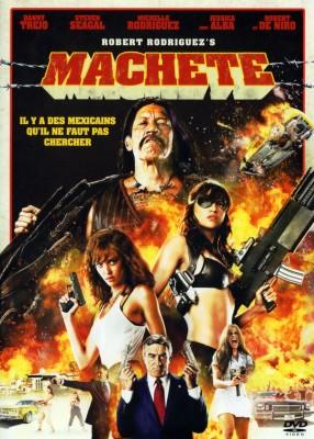 """Affiche du film """"Machete"""""""