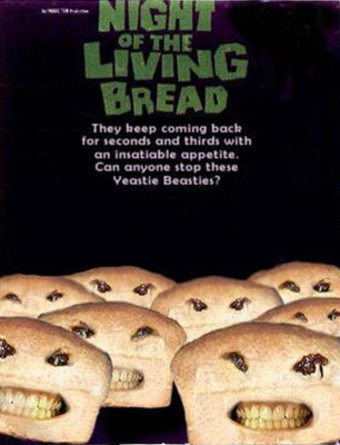 "Affiche du film ""Night of the Living Bread"""