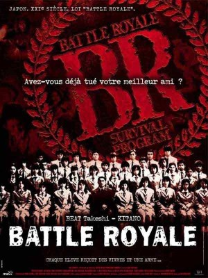 "Affiche du film ""Battle Royale"""