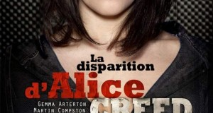 "Affiche du film ""La Disparition d'Alice Creed"""