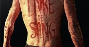 """Affiche du film """"Livre De Sang"""""""