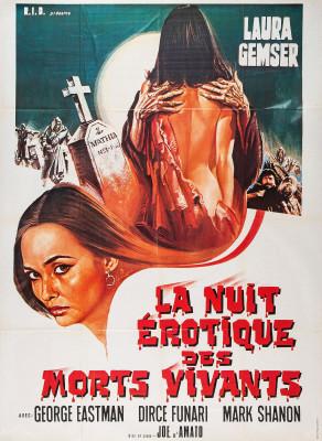 """Affiche du film """"La Nuit fantastique des morts-vivants"""""""