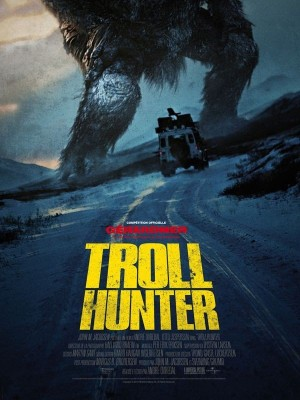 "Affiche du film ""Troll Hunter"""