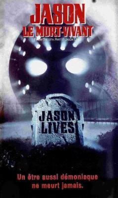 """Affiche du film """"Vendredi 13, chapitre 6 : Jason le mort vivant"""""""