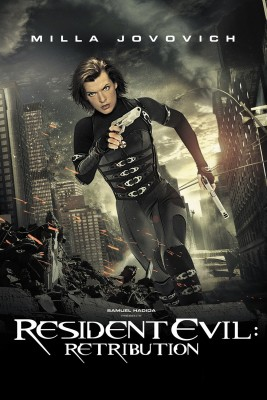 "Affiche du film ""Resident Evil : Retribution"""