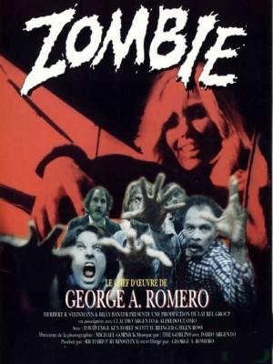 """Affiche du film """"Zombie 1 - Le crépuscule des morts-vivants"""""""