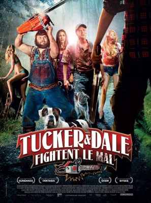 "Affiche du film ""Tucker & Dale fightent le mal"""