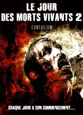 """Affiche du film """"Le jour des morts-vivants 2"""""""