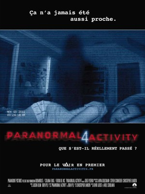"Affiche du film ""Paranormal Activity 4"""