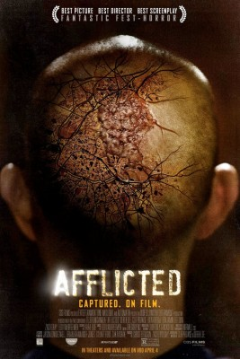 "Affiche du film ""Afflicted"""
