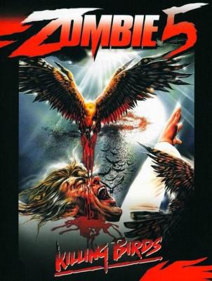 """Affiche du film """"zombie 5 - l'attaque des morts-vivants"""""""