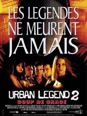 """Affiche du film """"Urban Legend 2 : coup de grâce"""""""