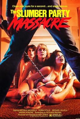 """Affiche du film """"Slumber party massacre"""""""