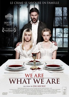 """Affiche du film """"We Are What We Are"""""""