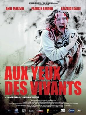 """Affiche du film """"Aux yeux des vivants"""""""