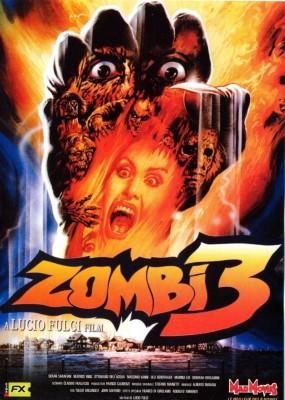 """Affiche du film """"Zombie 3"""""""