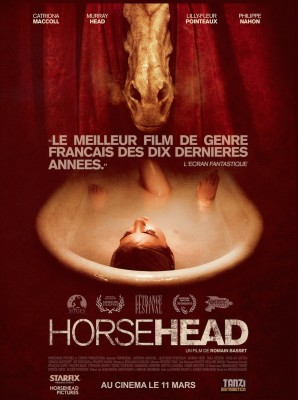 "Affiche du film ""Horsehead"""