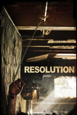 "Affiche du film ""Resolution"""