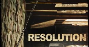 """Affiche du film """"Resolution"""""""