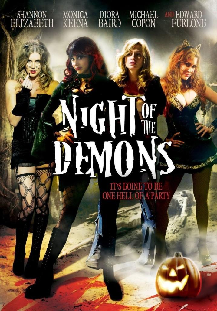 "Affiche du film ""Night of the Demons"""