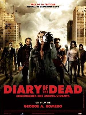 """Affiche du film """"Diary of the Dead: Chroniques des morts-vivants"""""""