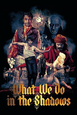 "Affiche du film ""What We Do in the Shadows"""
