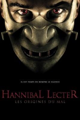 """Affiche du film """"Hannibal Lecter : les origines du mal"""""""