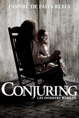 "Affiche du film ""Conjuring : Les dossiers Warren"""