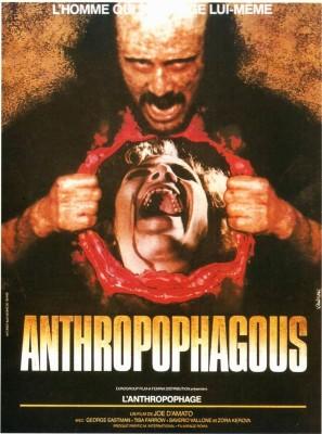 "Affiche du film ""Antropophagus"""