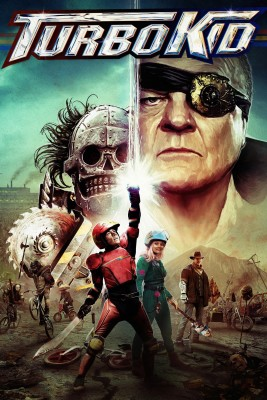 "Affiche du film ""Turbo Kid"""