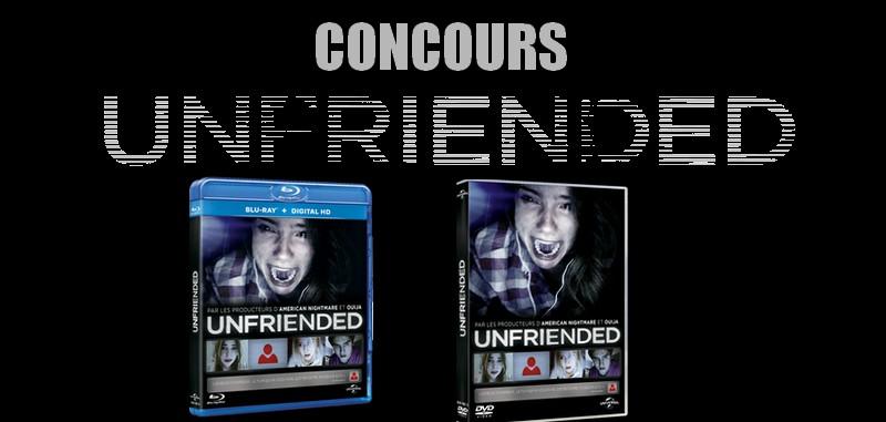 concours unfriended des dvd et blurays gagner. Black Bedroom Furniture Sets. Home Design Ideas