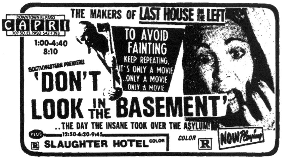Don't Look In The Basement films-horreur