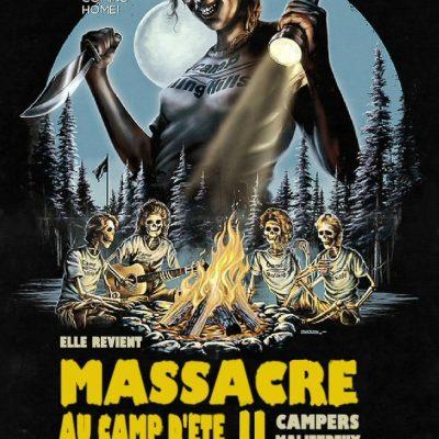 """Affiche du film """"Massacre au camp d'été 2"""""""