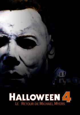 """Affiche du film """"Halloween 4 : Le Retour de Michael Myers"""""""