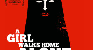 "Affiche du film ""A Girl Walks Home Alone at Night"""