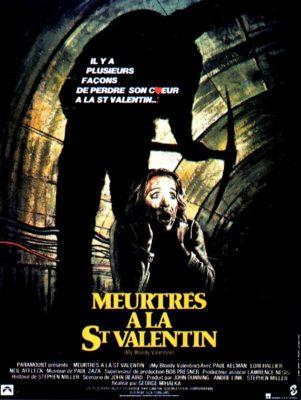 """Affiche du film """"Meurtres à la Saint Valentin"""""""