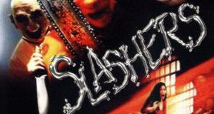 "Affiche du film ""Slashers"""