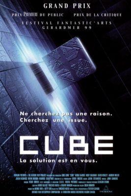 """Affiche du film """"Cube"""""""