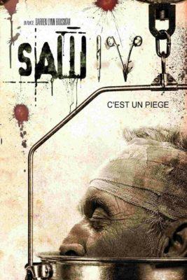 """Affiche du film """"Saw 4"""""""